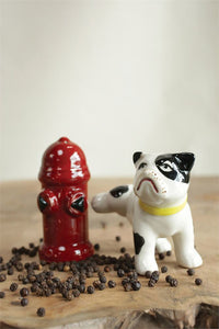 Dog And Hydrant Shakers - Meyer's Market