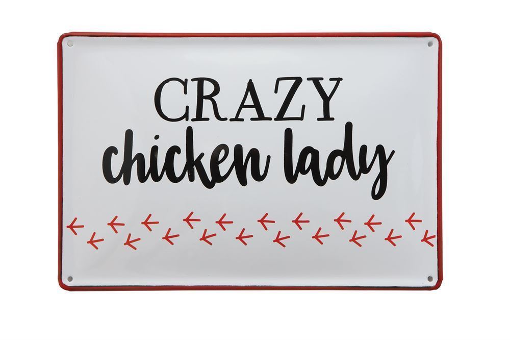 Crazy Chicken Lady Wall Decor - Meyer's Market
