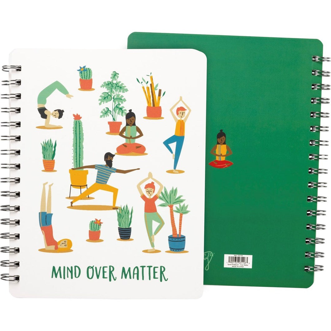 Mind Over Matter Spiral Notebook - Meyer's Market