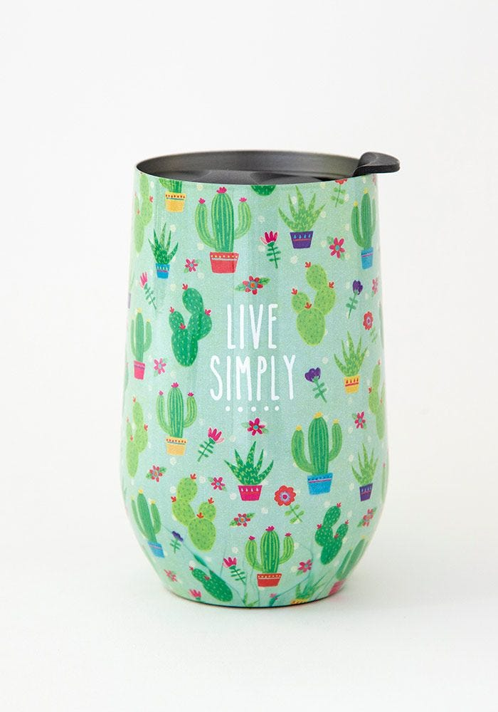 Live Simply Cactus Tumbler - Meyer's Market