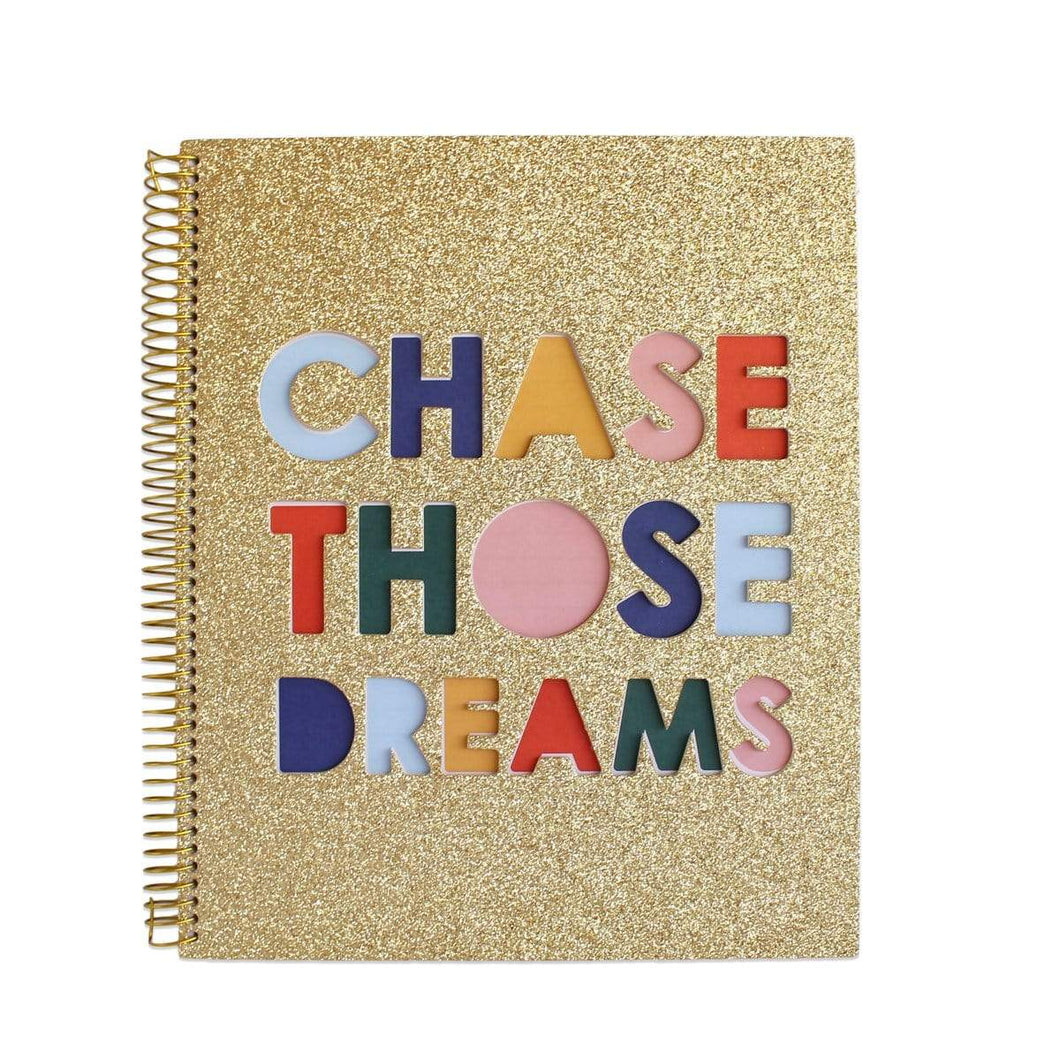Chase Those Dreams Notebook - Meyer's Market
