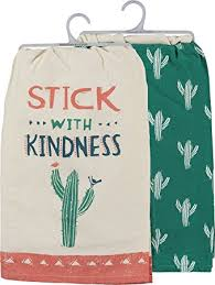 Stick With Kindness Dish Towel Set - Meyer's Market