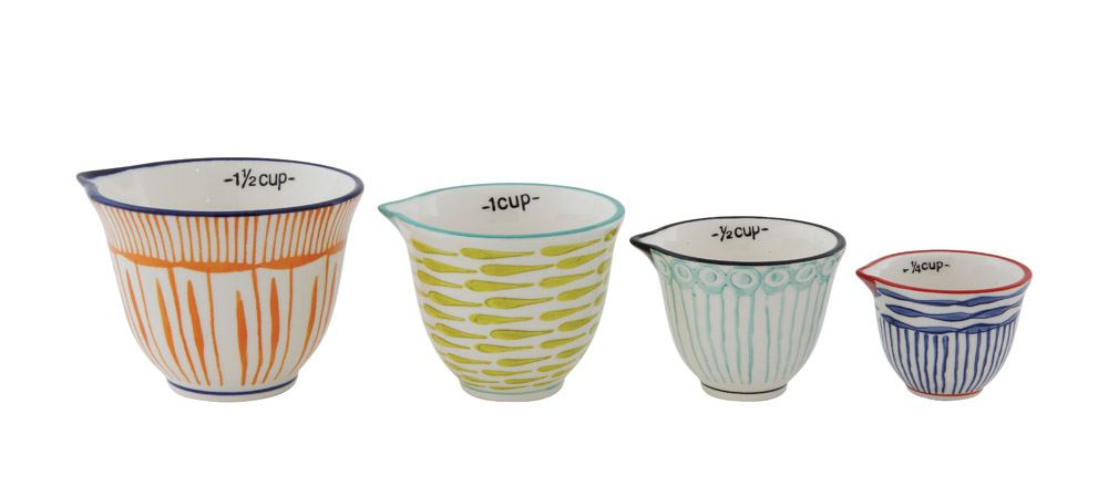 Stoneware Measuring Cups - Meyer's Market
