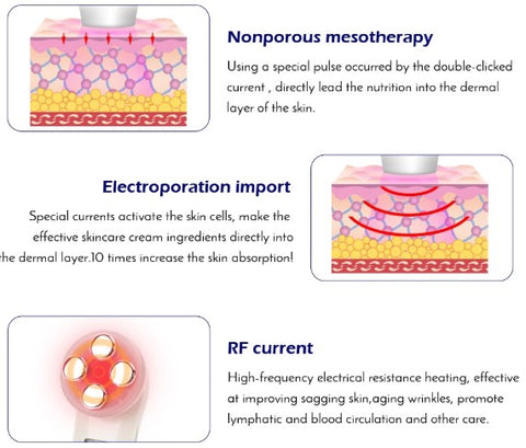 Electroporation Anti Aging EMS Massager   ADOGADGETS