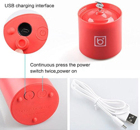 USB Charging 500ml Personal Smoothie Maker | ADOGADGETS