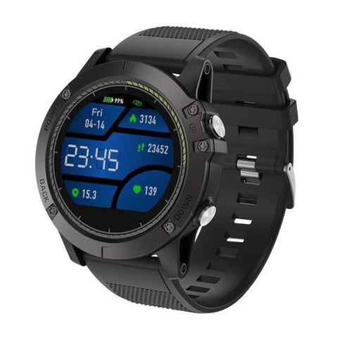 Smartwatch Tactical V5 - Black - Smart Watch