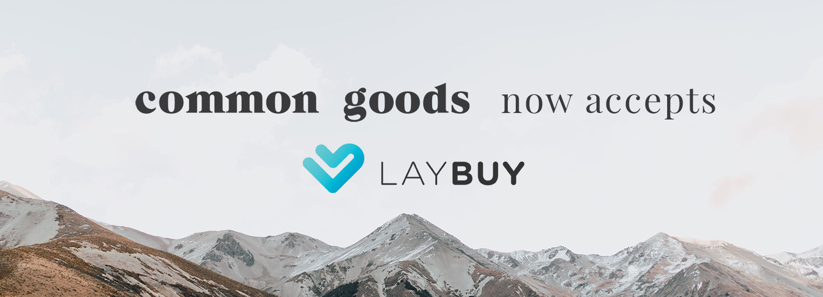 Laybuy Common Goods Banner