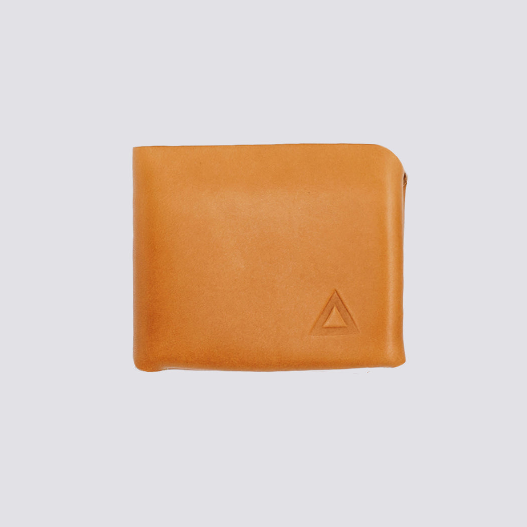 The Stitchless Leather Wallet - Tan