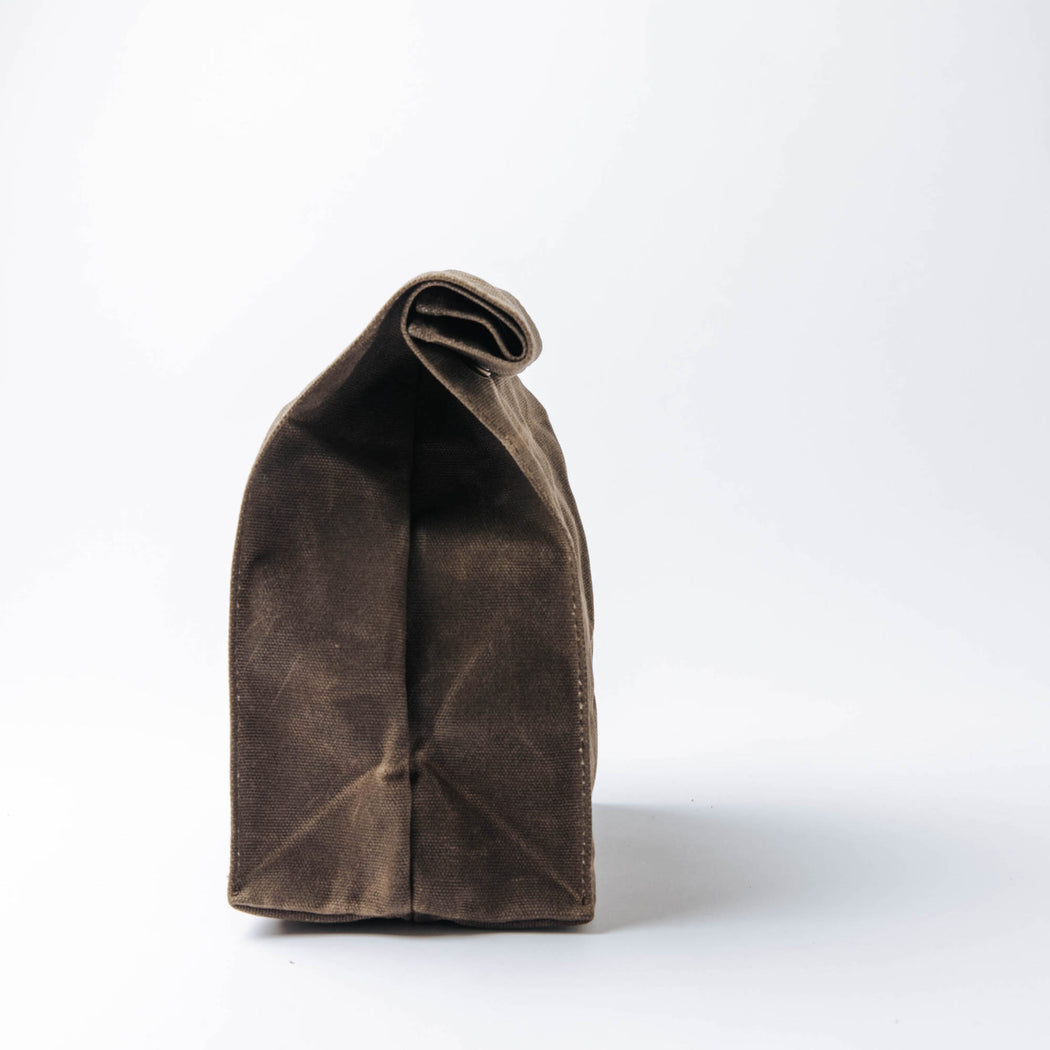 Common Goods Waxed Canvas Lunch Bag