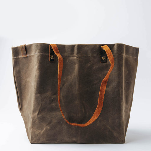 Common Goods Waxed Canvas Tote Bag