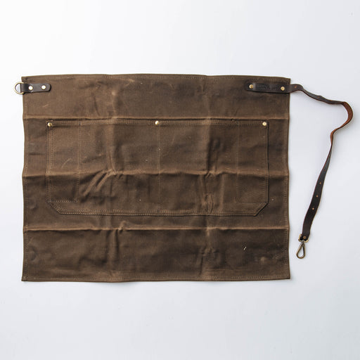 Common Goods Waxed Canvas Waist Apron