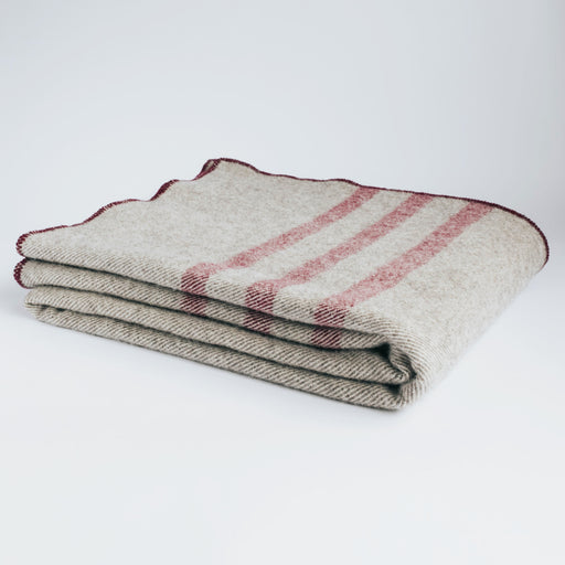 Pure Wool Cabin Blanket