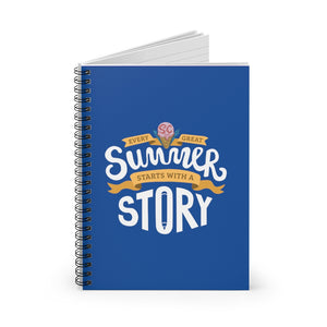 World Anvil's Worldbuilding Summer Camp 2020 Spiral Notebook - Ruled Line