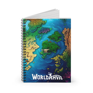 Anvil-Island Spiral Notebook - Ruled Line