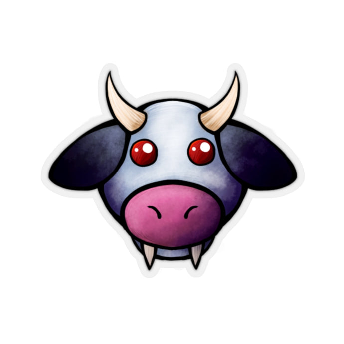 Vampire Cow Sticker #CowCon2020 Collectible