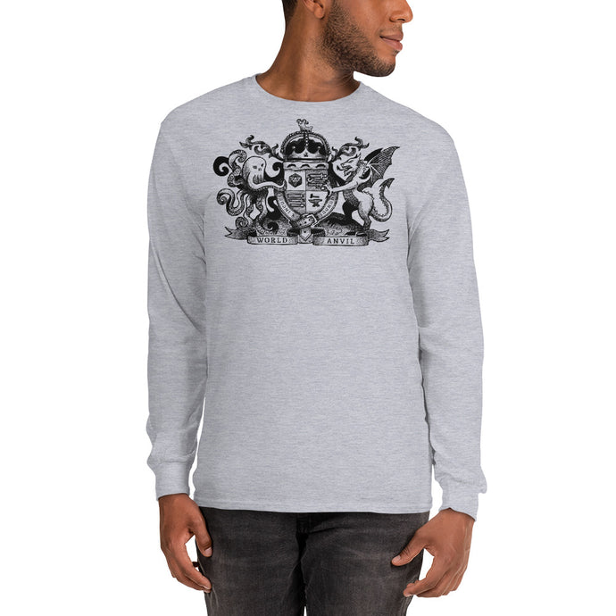 World Anvil Crest Long Sleeve Shirt