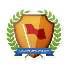 "Load image into Gallery viewer, Collectible Challenge Badge: ""Colonial Challenge 2019"""