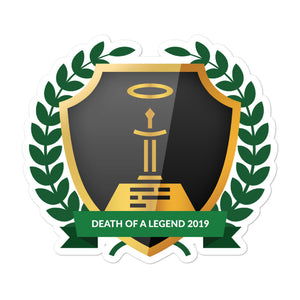 "Collectible Challenge Badge: ""Death of a Legend 2019"""