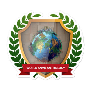 "Collectible Challenge Badge: ""World Anvil Anthology 2019"""