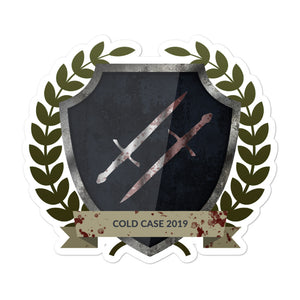 "Collectible Challenge Badge: ""Cold Case 2019"""