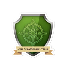 "Load image into Gallery viewer, Collectible Challenge Badge: ""Call of Cartography 2020"""