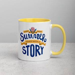 World Anvil's Worldbuilding Summer Camp 2020 Mug with Color Inside