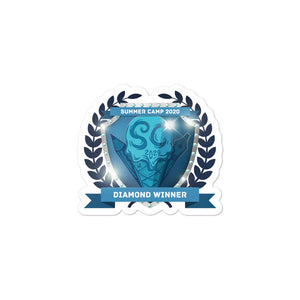 "Collectible Challenge Badge: ""Worldbuilding Summer Camp 2020 - Diamond"""