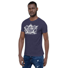 Load image into Gallery viewer, World Anvil White Crest Short-Sleeve  Unisex T-Shirt