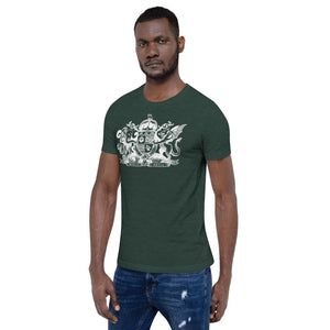 World Anvil White Crest Short-Sleeve  Unisex T-Shirt