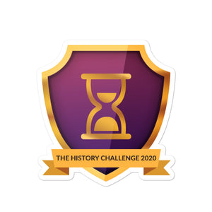 "Collectible Challenge Badge: ""The History Challenge 2020"""