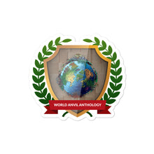 "Load image into Gallery viewer, Collectible Challenge Badge: ""World Anvil Anthology 2019"""