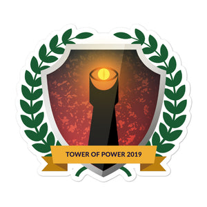 "Collectible Challenge Badge: ""Tower of Power 2019"""