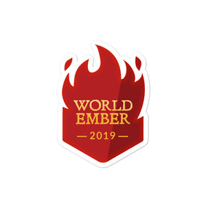 "Collectible Challenge Badge: ""WorldEmber 2019"""