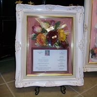Rectangle Antique White Frame 16x20