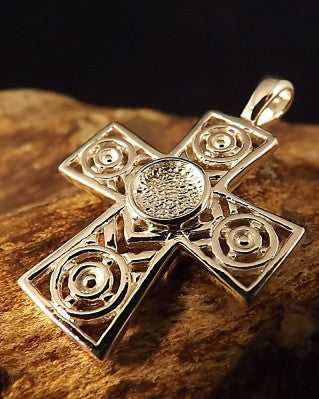 Celtic Cross Pendant Mount 6mm