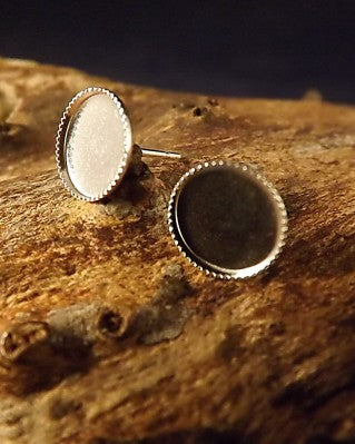Light Weight Round Earring Studs