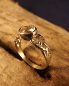 Celtic Ring Finding For 6mm Setting