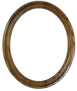Heirloom Stained Ash 11x14 Oval Frames (6)