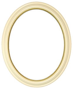 Classic Series 5 Wide 11x14 Oval Frames with Gold Lip (2)