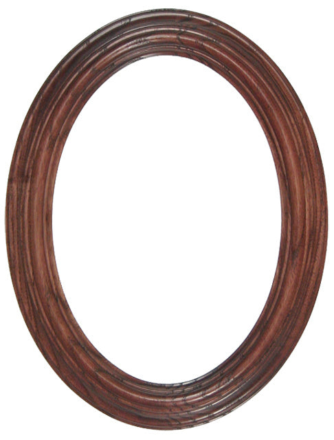 Heirloom Stained 5x7 Oval Frames (6)
