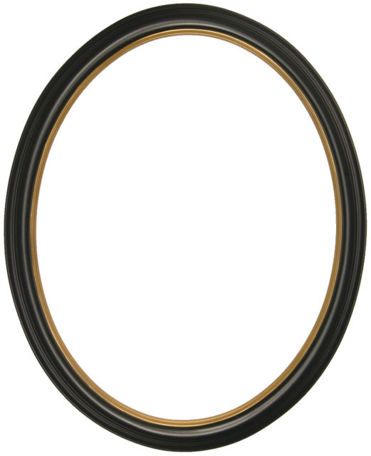 Classic Series 5 Narrow 11x14 Oval Frames with Gold Lip (2)