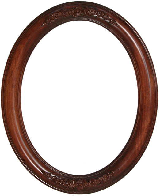 Premier Stained Alder 11x14 Oval Frames with Compo (3)