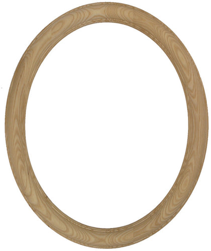 Premier Unfinished Ash 16x20 Oval Picture Frame