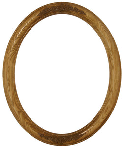 Premier Stained Ash 22x28 Oval Frames with Compo (4)