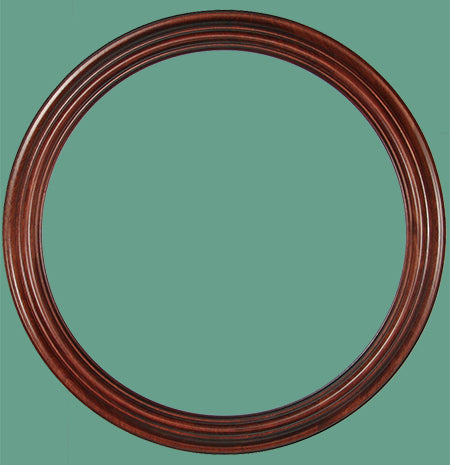 RD 11 Rosewood Round Frame