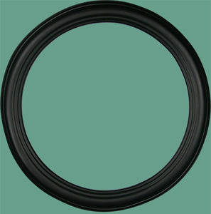 RD 22 Classic Black Round Frame