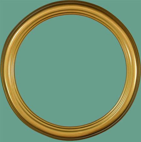 RD 22 Classic Gold Round Frame