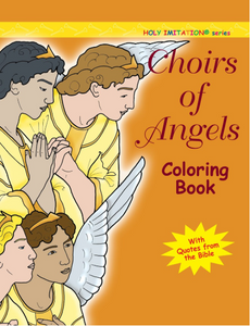 Choirs of Angles Coloring Book