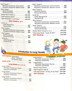 Phonics Level K Workbook