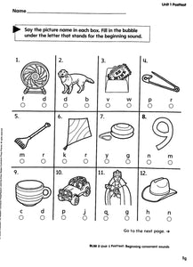 Phonics Level A Teacher Manual